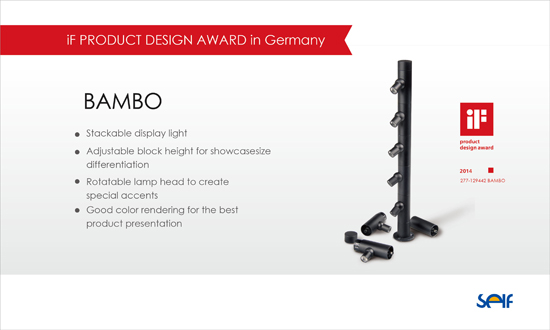 iF PRODUCT DESIGN AWARD in Germany