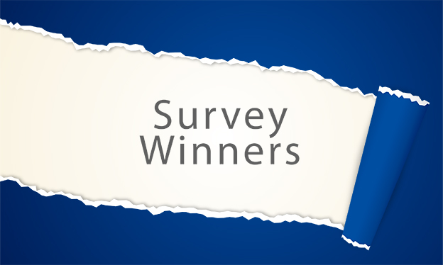 December 2019 Survey Winners